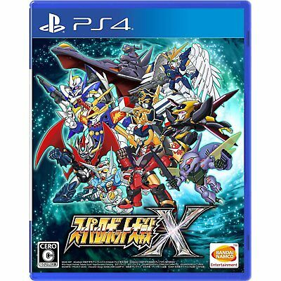 Super Robot Wars X (Japanese Ver) for PS4 Sony Playstation 4