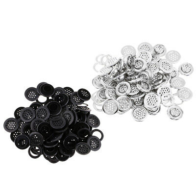 Baoblaze 100 x Metal Eyelet Buckle Grommets with Washers for DIY Hand Crafts