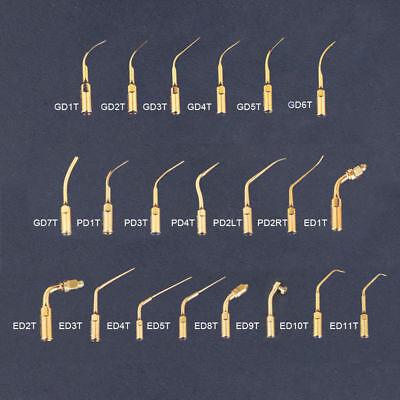 Lots Sale Dental Ultrasonic Piezo Scaler Tips Fit For DTE/SATELEC Handpiece