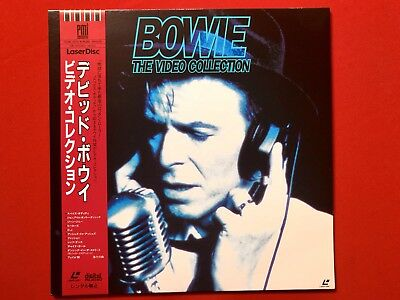 Laserdisc David Bowie Video Collection JP  like new, Sheet with all lyrics