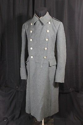 Perfect Winter World War 2 Swiss Overcoat Dated 1942 Made in Fribourg
