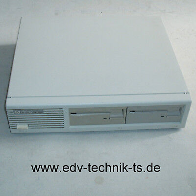 "HP-9122D  Floppy-Unit / Diskettenstation 2 x 3.5"" Laufwerke, HP-IB, Top Zustand!"