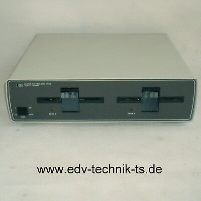"HP-82901M  Floppy-Unit / Diskettenstation 2 x 5.25"" Laufwerke,HP-IB,Top Zustand!"