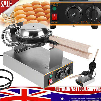 Electric Nonstick Bread Waffle Baker Maker Egg Cake Oven Iron Machine Stainless
