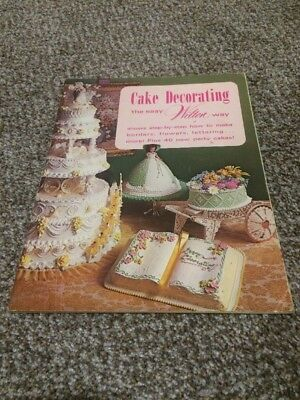 Vintage 1973 Cake Decorating the Easy Wilton Way Book