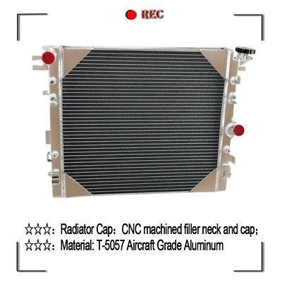 3ROW Radiator For Jeep Wrangler JK 3.6L 3.8L 2007-2015 2008 09 10 11 12 13 2014