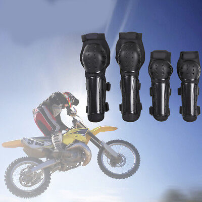4Pcs Protective Gear Elbow Knee Pads For Bicycle Outdoor Sports Atv Bike Skating