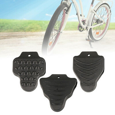 2× Bicycle Rubber Pedal Cleat Covers For Shimano Spd-Sl/look Keo/look Delta Fun