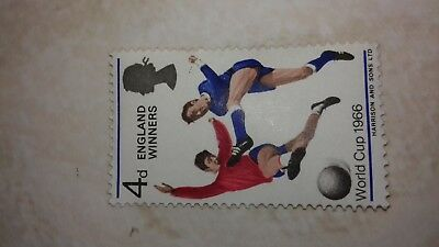 1966 world cup unused stamp good condition