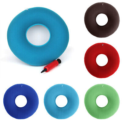 Inflatable Ring Round Medical Seat Cushion Donut Air Pillow For Hemorrhoid