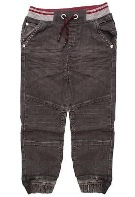 Boys Jeans Toddler Stretch Waist Cargo Knee Combat Grey 9 Months to 6 Years