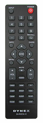 NEW ! ORIGINAL Dynex TV Remote Control For DX-26L100A13 < >R087