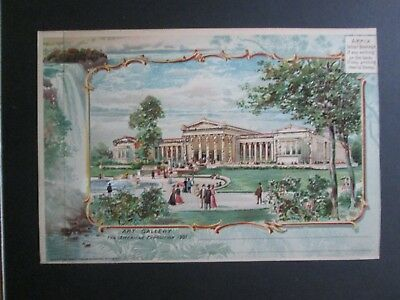 postcard, 1901 Pan American expo 6x9 PC