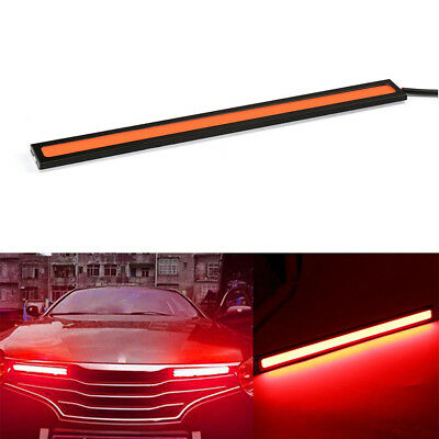 1 x Red LED COB Lights Car Waterproof External Fog Light Driving Lamp Universal