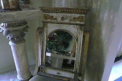 Antique Italian Neoclassical French Louis XVI Style Mirror