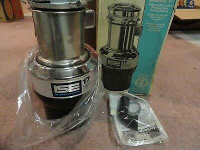 In-Sink-Erator model 17   3/4HP Stainless Commercial Disposer