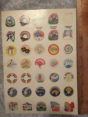Lot Of Vintage 80's Stickers