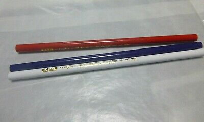 Chinagraph Pencils Grease Wax Glass Porcelain Blue White Red Plant Labeling