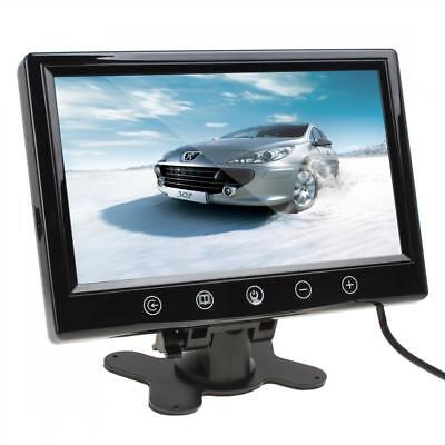 Remote Control 9 Inch TFT LCD Car Rear View Monitor Headrest Monitor 2-CH Video