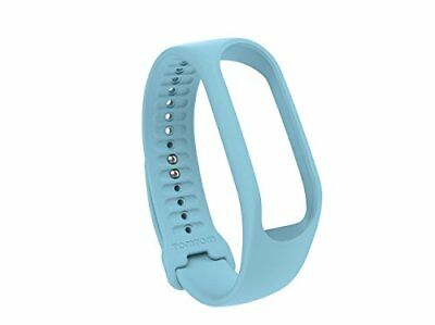 TomTom Touch Body Composition Fitness Tracker Strap Light Blue, Small