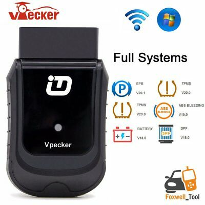 VPECKER Easydiag Wifi Wireless OBDII OBD2 Full Systems Windows Diagnosis Tool MN