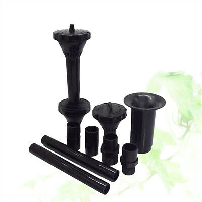 Fountain Pump Nozzle Multifunction Waterfall Garden Plastic Spray Heads for Pool