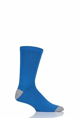 Mens 1 Pair Thought Solid Jack Bamboo and Organic Cotton Socks