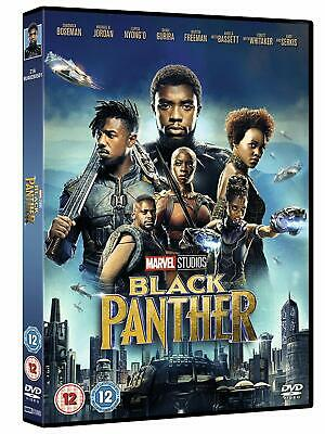 Black Panther 2018 DVD Film Disc Movie - New Sealed UK Region UK Stock 1st Class