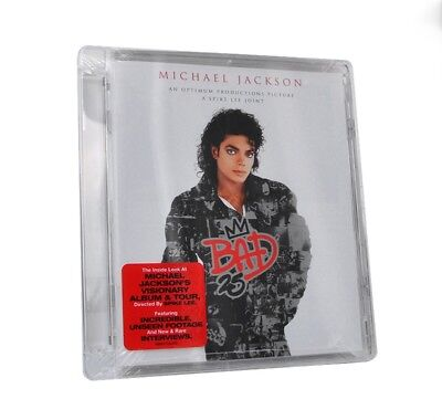 Michael Jackson Bad 25-th Spike Lee DVD Brand New Sealed Rare No Promo