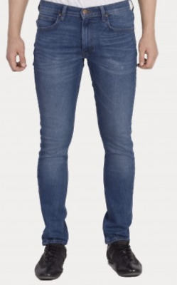 Mens Ex- Lee Luke Fresh Blue Slim Tapered Fit Jeans RRP £90 (Seconds)  L193