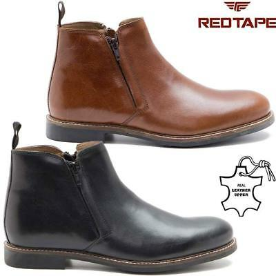 Mens Leather Chelsea Boots Ankle Biker Ridding Formal Desert Chukka Boots Shoes