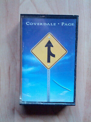 Musikkassette   COVERDALE / PAGE   SAME   Rock
