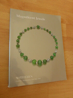 SOTHEBY'S :   Magnificent Jewels / Geneva 19th May  1999