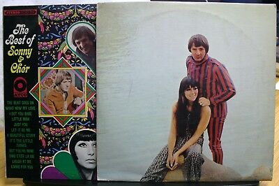 2 Vinyl Record Album Sonny & Cher The Best Of Greatest, Hits 3 Lps