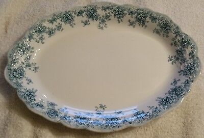Antique  J.H.W. & Sons Hanley England Platter  14 1/2""