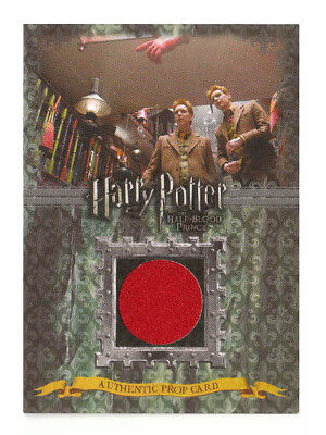 Harry Potter Prop Card Pointing Hand Weasley's Half Blood Prince P1 058/300 LOW#