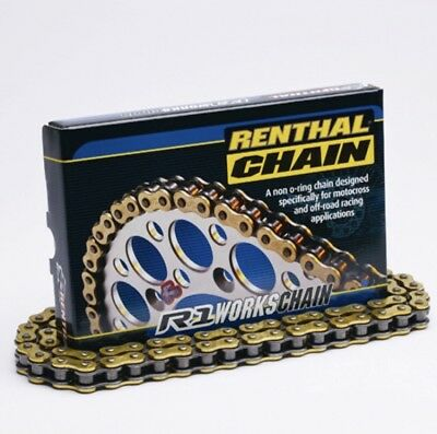 Renthal 520 R1 Motocross Racing Chain 118 Links Gold Ktm Crf Yzf 250 450