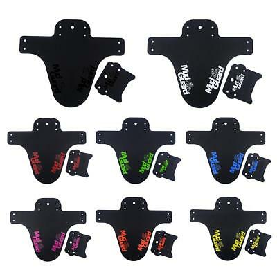 MTB Mudguard Set Mountain Bike Bicycle Fender for Front or Rear Easy Fit UK