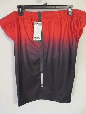 896ceddf Michael Strahan MSX Polyester Red/Black Elastic Wst Athletic Shorts  SR$40-50NEW