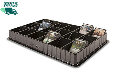Ultra Pro Trading Card Sorting & Dealer Tray (18 Slot) Black