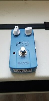 JOYO JF-37 Analog Chorus Guitar Effects Pedal True Bypass ships fast in US...