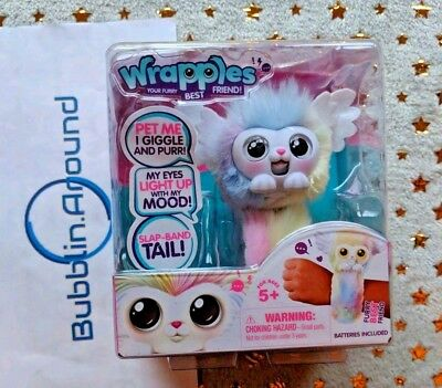 Wrapples Rainbow Luna Little Live Pets Interactive Furry Friends