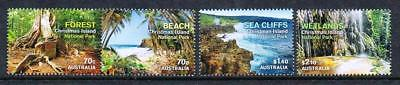 STAMPS AUSTRALIA  CHRISTMAS ISLAND  2014  NATIONAL PARKS  (MNH) lot xx