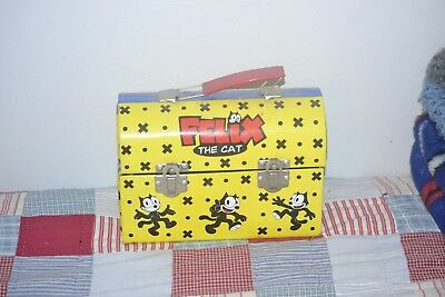 Felix the Cat Lunch Box 1999 Series 1. Used. Dome shape. Rare.