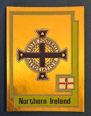 Scudetto Calciatori Panini Europa 80 - Nuovo/new - N. 224 Northern Ireland