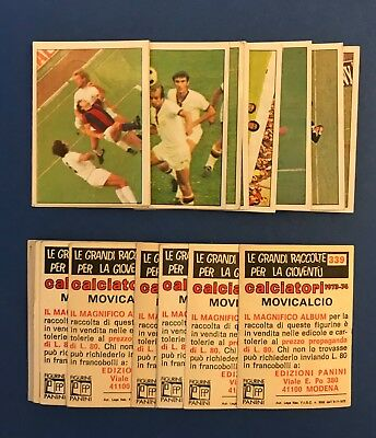 Lotto Figurine Calciatori Panini 1973/74 - Nuove/new -  29 Diverse - Movicalcio