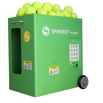 Tennis Ball Machine Battery Operated Pick Up Sports Game Phone Remote Supported