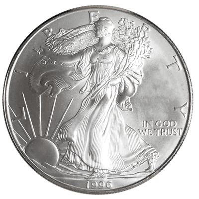 1996 $1 American Silver Eagle 1 oz. (Brilliant Uncirculated)