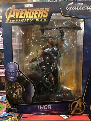 Marvel Gallery Avengers 3 Infinity War Thor Pvc Figure *in Stock* Statue Mib