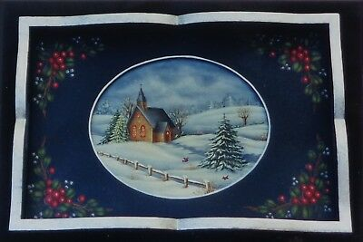 """Debbie Cole tole painting """"Theory Booklet"""" pattern """"Winter Memories"""""""